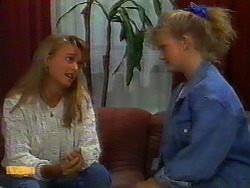 Bronwyn Davies, Sharon Davies in Neighbours Episode 0918