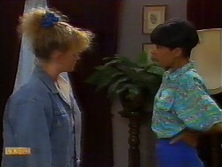 Sharon Davies, Hilary Robinson in Neighbours Episode 0918