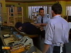 Henry Ramsay, Des Clarke, Police Officer in Neighbours Episode 0918