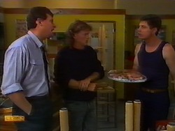 Des Clarke, Henry Ramsay, Joe Mangel in Neighbours Episode 0919