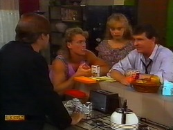 Mike Young, Henry Ramsay, Jane Harris, Des Clarke in Neighbours Episode 0919
