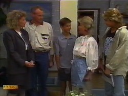 Beverly Robinson, Jim Robinson, Todd Landers, Helen Daniels, Nick Page in Neighbours Episode 0920