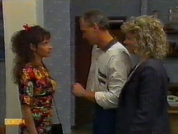 Madeline Price, Jim Robinson, Beverly Robinson in Neighbours Episode 0920