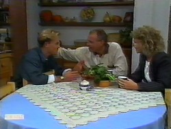 Scott Robinson, Jim Robinson, Beverly Robinson in Neighbours Episode 0920