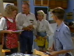 Beverly Marshall, Jim Robinson, Helen Daniels, Todd Landers in Neighbours Episode 0921