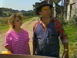 Laurie, Farmer in Neighbours Episode 0922
