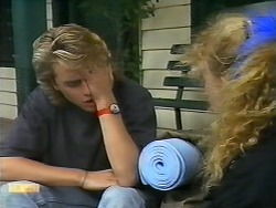 Nick Page, Sharon Davies in Neighbours Episode 0923