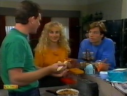 Des Clarke, Jane Harris, Mike Young in Neighbours Episode 0924