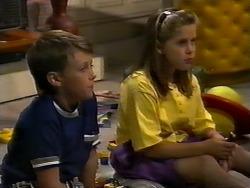Toby Mangel, Katie Landers in Neighbours Episode 0924