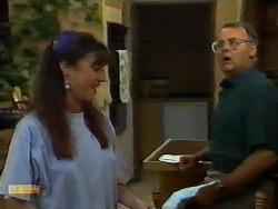 Kerry Bishop, Harold Bishop in Neighbours Episode 0924