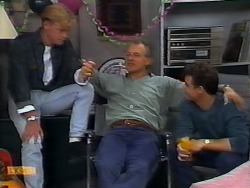 Scott Robinson, Jim Robinson, Paul Robinson in Neighbours Episode 0926