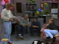 Henry Ramsay, Jim Robinson, Paul Robinson, Scott Robinson in Neighbours Episode 0926