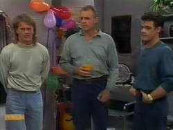 Henry Ramsay, Jim Robinson, Paul Robinson in Neighbours Episode 0927