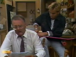 Harold Bishop, Scott Robinson in Neighbours Episode 0927