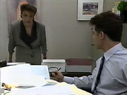 Gail Robinson, Paul Robinson in Neighbours Episode 0928