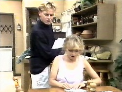 Scott Robinson, Jane Harris in Neighbours Episode 0928
