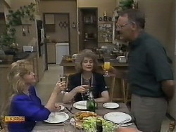 Betty Bristow, Madge Bishop, Harold Bishop in Neighbours Episode 0929