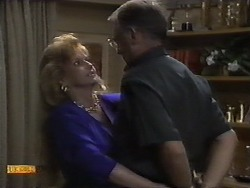 Betty Bristow, Harold Bishop in Neighbours Episode 0929