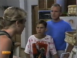 Nick Page, Todd Landers, Jim Robinson in Neighbours Episode 0930