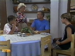 Todd Landers, Helen Daniels, Jim Robinson, Nick Page in Neighbours Episode 0930