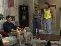 Joe Mangel, Jane Harris, Henry Ramsay in Neighbours Episode 0930