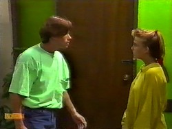 Mike Young, Bronwyn Davies in Neighbours Episode 0931