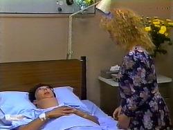 Hilary Robinson, Sharon Davies in Neighbours Episode 0931