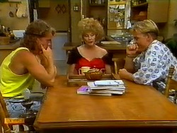 Henry Ramsay, Madge Bishop, Scott Robinson in Neighbours Episode 0931