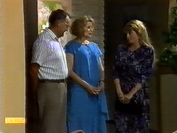 Harold Bishop, Madge Bishop, Betty Bristow in Neighbours Episode 0932
