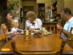 Kerry Bishop, Sky Mangel, Madge Bishop, Harold Bishop in Neighbours Episode 0932