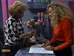 Madge Bishop, Receptionist in Neighbours Episode 0932