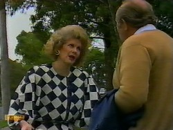 Madge Bishop, Reverend Sampson in Neighbours Episode 0933