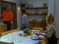 Jim Robinson, Todd Landers, Katie Landers in Neighbours Episode 0933
