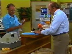 Harold Bishop, Reverend Sampson in Neighbours Episode 0933