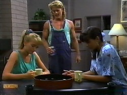 Bronwyn Davies, Henry Ramsay, Poppy Skouros in Neighbours Episode 0935