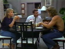 Bronwyn Davies, Paul Robinson, Henry Ramsay in Neighbours Episode 0935