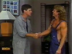 Joe Mangel, Henry Ramsay in Neighbours Episode 0935