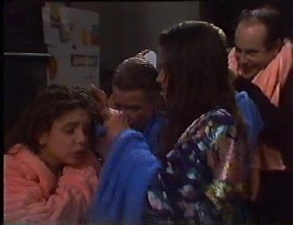 Hannah Martin, Helen Daniels, Julie Robinson, Philip Martin in Neighbours Episode 2197