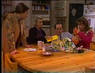 Julie Robinson, Helen Daniels, Philip Martin, Hannah Martin in Neighbours Episode 2197