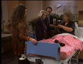 Gaby Willis, Helen Daniels, Philip Martin, Cheryl Stark in Neighbours Episode 2197