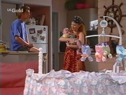 Malcolm Kennedy, Louise Carpenter (Lolly), Ren Gottlieb in Neighbours Episode 2296