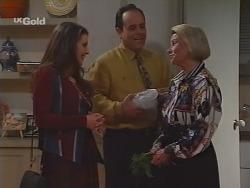 Molly Harrison, Philip Martin, Helen Daniels in Neighbours Episode 2296