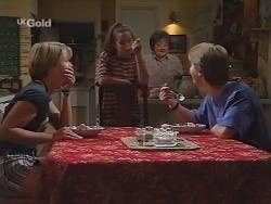 Danni Stark, Bianca Zanotti, Marlene Kratz, Brett Stark in Neighbours Episode 2297