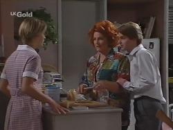 Danni Stark, Cheryl Stark, Brett Stark in Neighbours Episode 2297