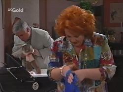 Lou Carpenter, Cheryl Stark in Neighbours Episode 2297