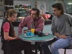 Bianca Zanotti, Karl Kennedy, Sam Kratz in Neighbours Episode 2297