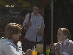 Brett Stark, Stonie Rebecchi, Libby Kennedy in Neighbours Episode 2297