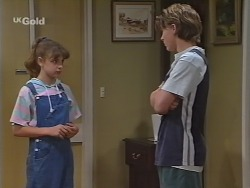 Hannah Martin, Billy Kennedy in Neighbours Episode 2299