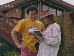 Rick Alessi, Cody Willis in Neighbours Episode 2300