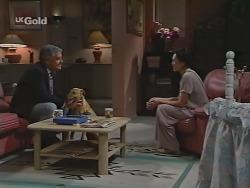 Lou Carpenter, Suede Tess, Ling-Mai Chan in Neighbours Episode 2300